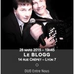 Le BLOGG - 28 mars 2015