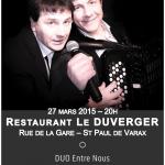 Le Duverger - 27 mars 2015