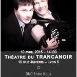 Le TRANCANOIR - 19 avril 2015